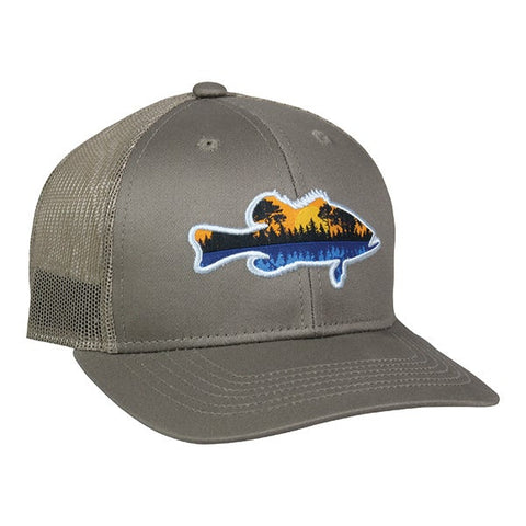 Bass Fishing Original Mesh Back Hat -  -Sport-Smart.com