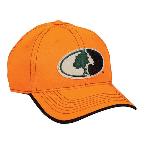 Blaze Orange Hat with Mossy Oak Logo - Hunting Camo Caps -Sport-Smart.com
