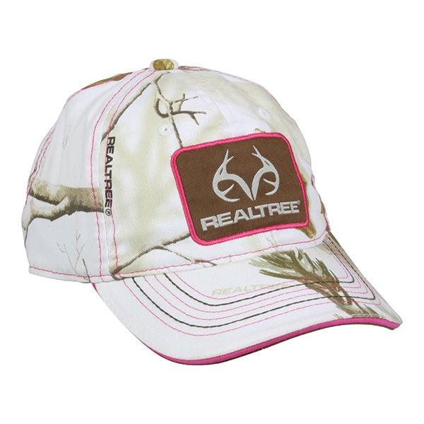 Team Realtree Ladies Camo Hat - Hunting Camo Caps -Sport-Smart.com ... 120ef62497fd