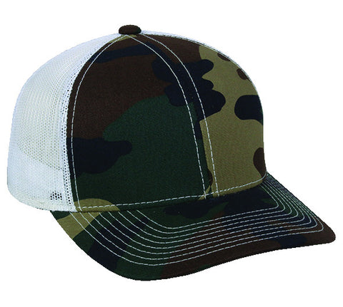Platinum Series Generic Camo Mesh Back Hat