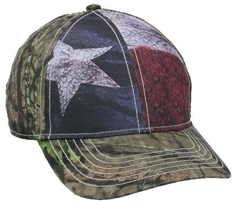 Flag Camo Cap - Hunting Camo Caps -Sport-Smart.com