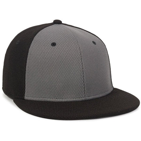 Fitted Proflex High Crown Hat with Flat Visor - Baseball Hats -Sport-Smart.com