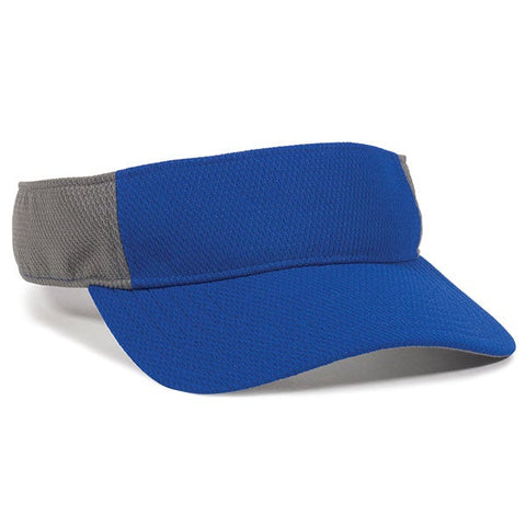 Performance Mesh Sports Visor - Visors -Sport-Smart.com
