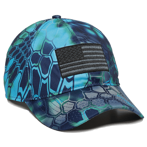 Kryptek Camo American Flag Hat - Hunting Camo Caps -Sport-Smart.com