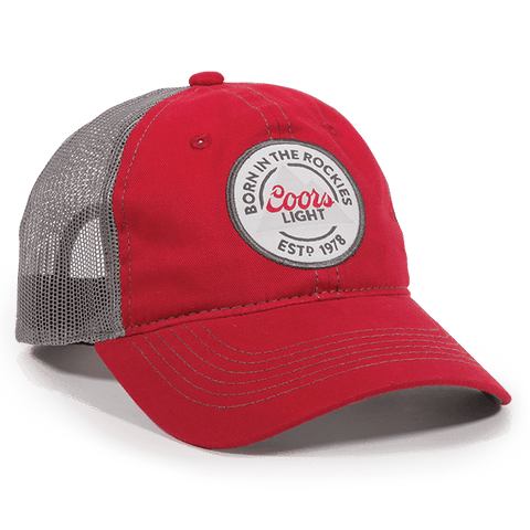Born in the Rockies Coors Light Mesh Back Hat - Mesh Hats Caps -Sport-Smart.com