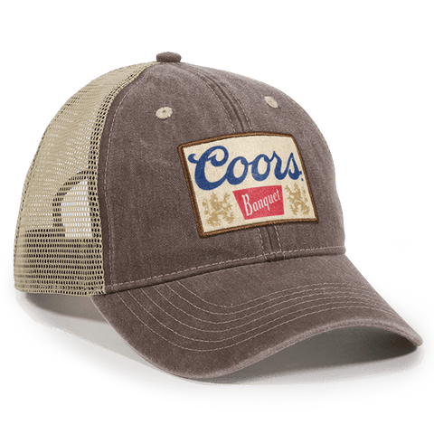 Coors Mesh Back Hat - Mesh Hats Caps -Sport-Smart.com