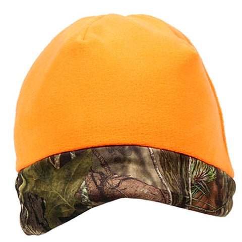 Extreme Protection Reversible Camo Beanie - Hunting Camo Caps -Sport-Smart.com