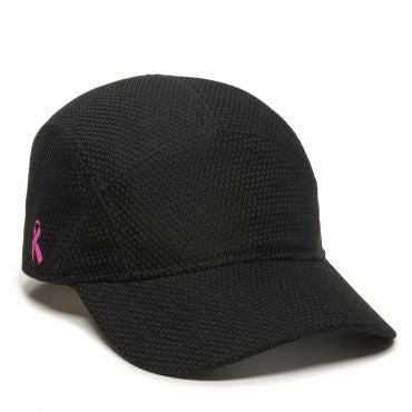 cb5c79dd9c0 ... Breast Cancer Awareness Ribbon Hat - Exercise and Running Hats  -Sport-Smart.com