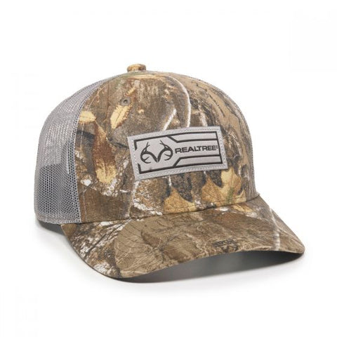 Camo Mesh Back with Realtree Logo - Hunting Camo Caps -Sport-Smart.com