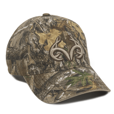 Team Realtree Logo XXL Camo Hat - Hunting Camo Caps -Sport-Smart.com