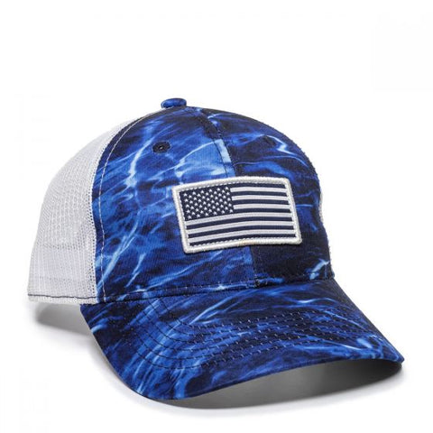 Mesh Back USA Flag Fishing Hat - Fishing Hats and Visors -Sport-Smart.com