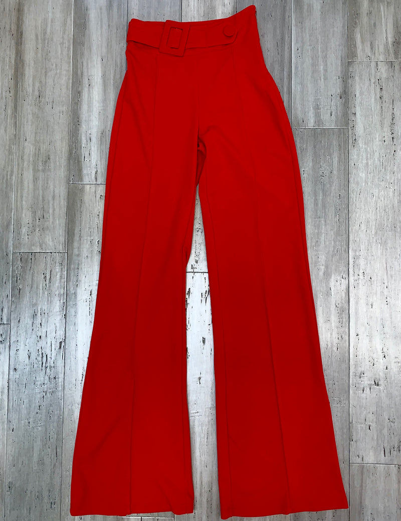 Gina red pants