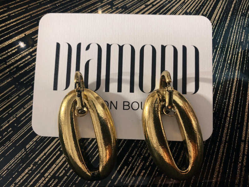 Becan gold earrings