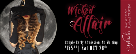 Club Privata Presents A Wicked Affair Halloween - VIP Entry Couples Pass