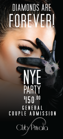 Club Privata Presents Diamonds are Forever New Years Eve - Standard Entry Couples Pass