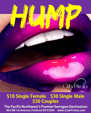 HUMP! Wednesdays at Club Privata