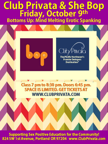 October 9th 2020 Bottoms Up: Mind Melting Erotic Spanking