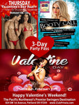 Valentine's 3 Day Full Access Pass: Thursday, Friday, and Saturday - Single Female Ticket