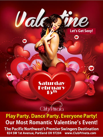 Valentines day Weekend Saturday Night Only Single Female Ticket