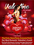 Valentines day Weekend Saturday Night Only Single Male Ticket