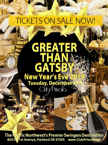 New Years Eve 2019 Greater than Gatsby Tickets On Sale Now