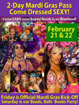 Join Club Privata for Mardi Gras Weekend