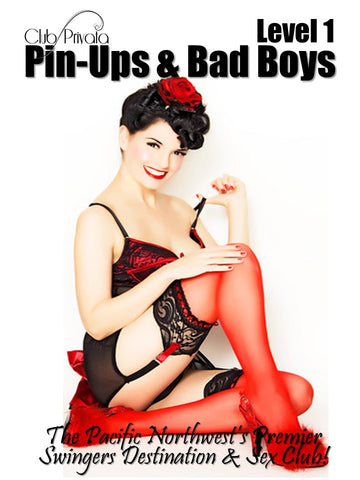Pin Ups & Bad Boys Level 1 - Couples Ticket
