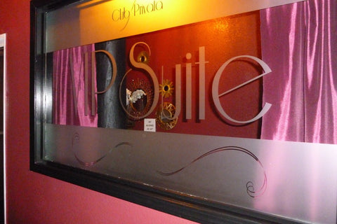 Club Privata VIP Suite Custom Mirror