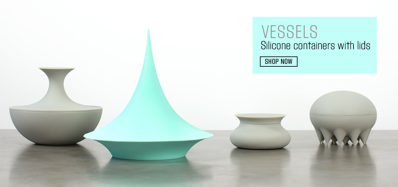 VESSELS - Silicone Containers with Lids