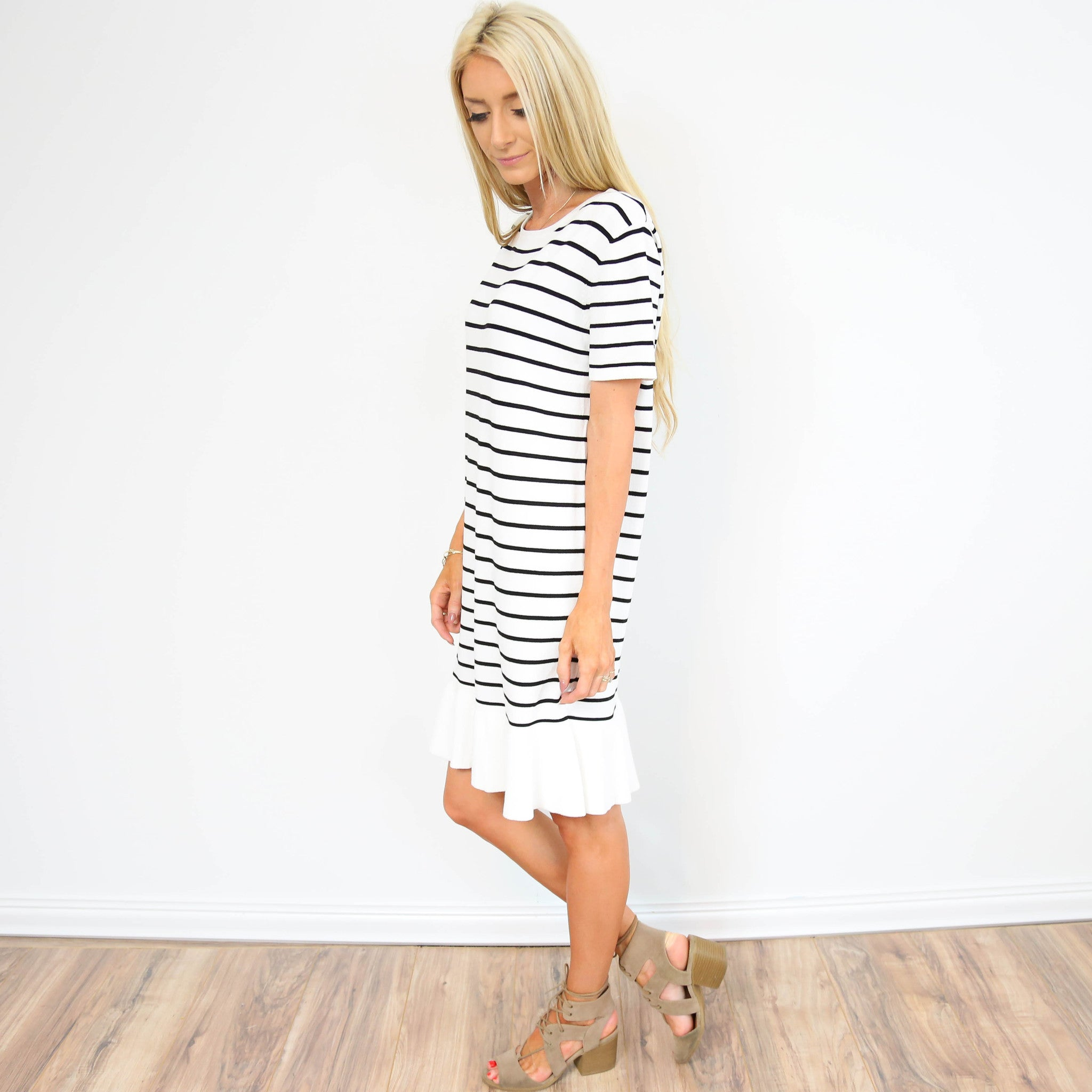 Venice Stripe Dress