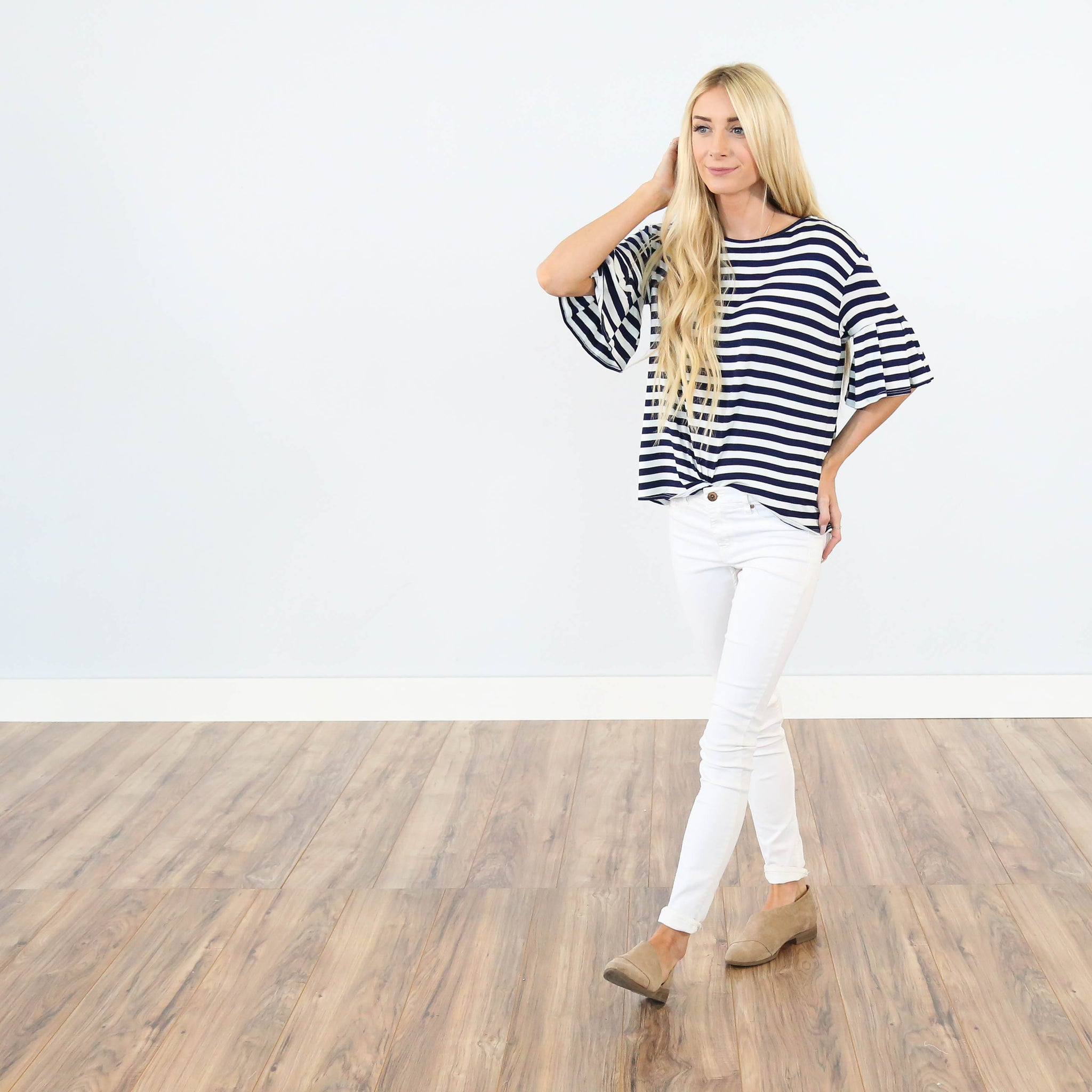 Joanne Stripe Top