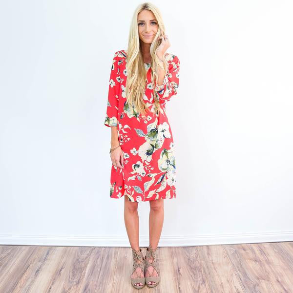 Bombay Coral Dress