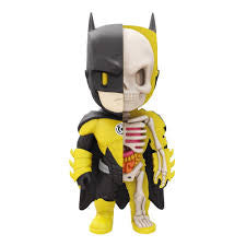 Batman Yellow Lantern - XXRay- Mighty Jaxx - Jason Freeny