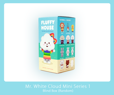 Mr. White Cloud Mini Series 1 (Blind Box) Fluffy House