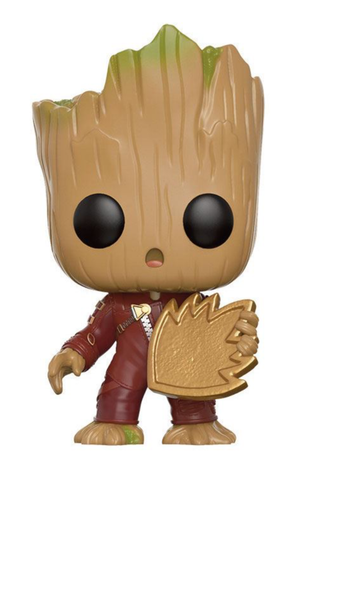Guardians of the Galaxy 2 Funko POP! Young Groot with Shield 9 cm