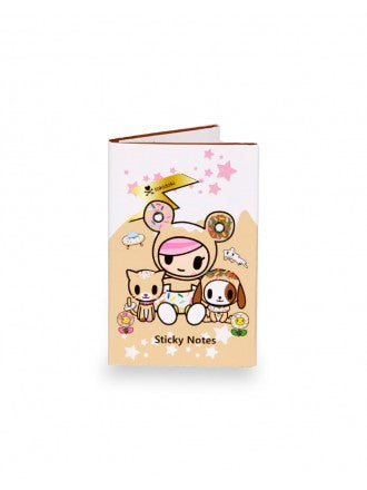 Donutella & Her Sweet Friends Sticky Note Booklet - Tokidoki