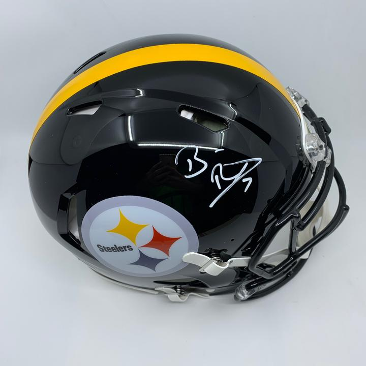 Ben Roethlisberger Signed Pittsburgh Steelers Full Size Authentic Speed Helmet