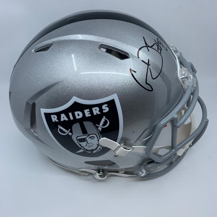 Clelin Ferrell Signed Oakalnd Raiders Full Size Authentic Speed Helmet