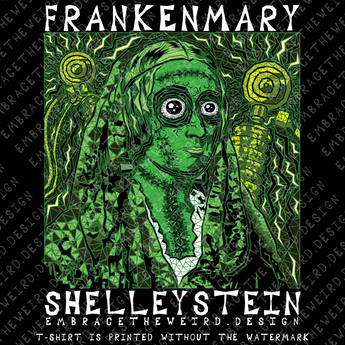 "It's time for a little monster mashup, welcome to ""FRANKENMARY SHELLEYSTEIN""!"