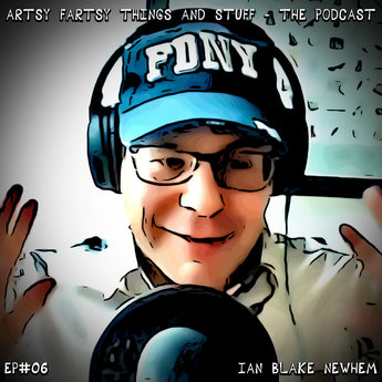 An Interview with Writer Ian Blake Newhem - Artsy Fartsy Things & Stuff! - EP# 06