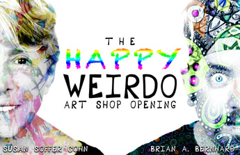 The Happy Weirdo Art Shop Belated Grand Opening!
