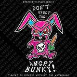 Angry Bunny (Unisex T-Shirt)