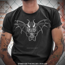 Load image into Gallery viewer, Alien Bat Skull (Unisex T-Shirt)