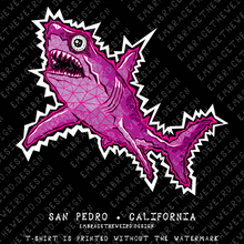 Load image into Gallery viewer, Great Pink Shark (Unisex T-Shirt)