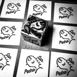 SAN PEDRO 3-EYED FISH - Hand-Carved Block Printing Stamp