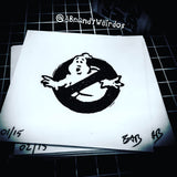GHOSTBUSTERS - Hand-Carved Block Printing Stamp