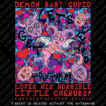 Load image into Gallery viewer, Demon Baby Cupid (Unisex T-Shirt)