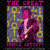Great Purple Artist (Vs 02), The (Unisex T-Shirt)