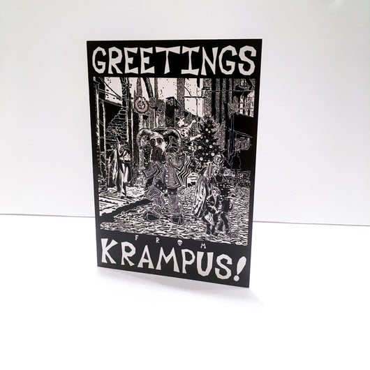 PoS Krampus Night - (Greeting Card)