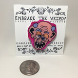 Crazy Old Fart #02 (Handmade Lapel pin)